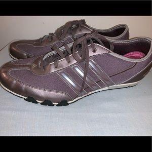 Women's Comfortable Lavender Adidas Size 11